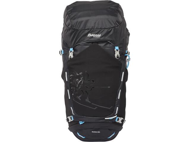 Bergans Rondane 46l Backpack Black/Bright Sea Blue